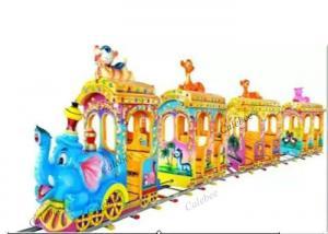 China Electric Kiddie Rides Machine Train Track Play Equipment Animal Electrical Kids Train on sale
