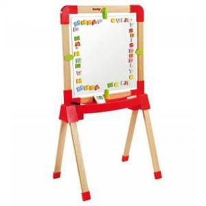 China Wooden Smoby Adjustable Easel on sale