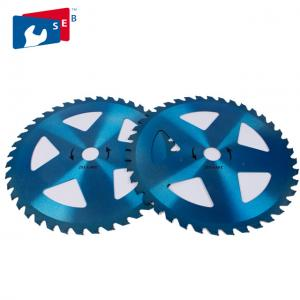 China 40T TCT Circular Brush Cutter Blade for Cutting Grass Bamboo Fence on sale