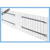 Light Duty Galvanized Steel Wire Mesh PanelsZinc Plate Decking Fit Pallet Racks