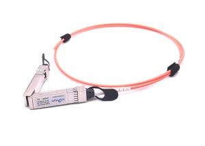 China 10gbase Cisco Optical Transceiver , Sfp+ Direct Attach Cable 10GBASE-AOC SFP+ Cable 1M on sale