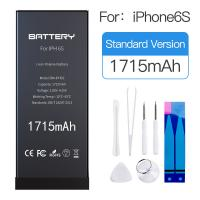 MSDS / OEM Iphone Internal Battery , Rechargeable Apple 6s Phone Battery