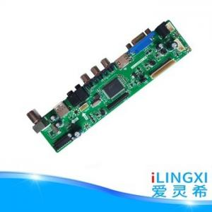 China LED TV SKD High Quality  Universal 12V DC 15-24 LCD LED TV  Main  board  with USB VGA on sale