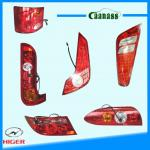 Chinese bus Higer Yutong kinglong zhongtong interior spare parts rear led foglight headlamp bus tail lamp