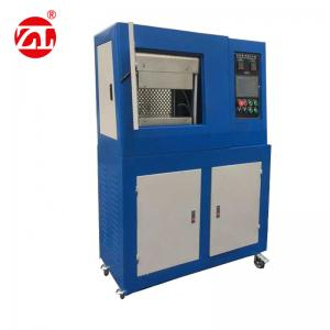 China Lab Rubber Carpet Track Vulcanizing Press Machine , Plastic Lab Hot Press Machine on sale