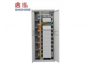 China Outdoor Fiber Optic Distribution Cabinet For Large Capacity Wiring Requirement on sale