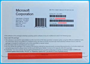 China Genuine Microsoft Windows 10 Pro 32 64bit  Pro DSP OEI DVD Version 1709 OEM Software on sale