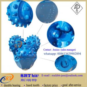 China oil and water well drilling rotary metal sealed  TCI tricone drill bits on sale