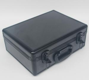 China ABS Shinny Black Aluminum Case Light Weight , Professional Aluminum Camera Case on sale