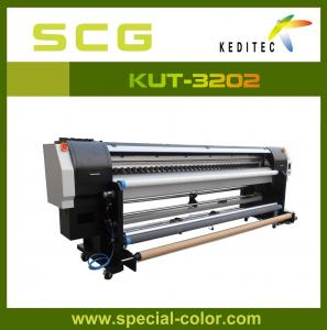 China 3.2m Roll To Roll UV Printer Machine With Epson DX5 Printhead on sale