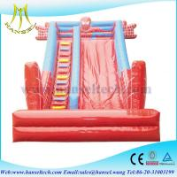 China Hansel Good Colorful Inflatable Fun Slide Sports Game for Sale on sale