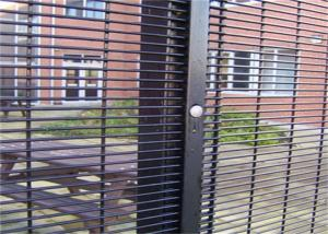 China Outdoor Prison Mesh 358 Security Fence / Steel Metal Security Fence Panels on sale