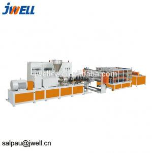 China Jwell PVC step roofing Extrusion Line on sale