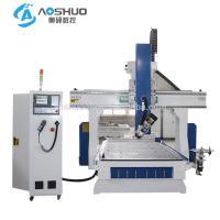 Automatic Sheet Metal Cutting Machine CNC Router For Aluminum Taiwan TBI Ball Screw