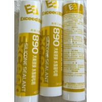 Yellow Glass Silicone Sealant Wide Adhesion One - Component For Aquarium