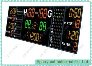 China Ultra Bright Electronic Scoring Board In Basketball / Handball And Hockey Game on sale