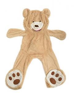 China DIY Gift Empty Giant Teddy Bear Skin Shell 63 Inches Soft Toy Dolls Eco Friendly on sale