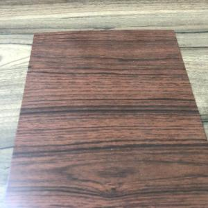 China 0.30MM Thickness Color Coated Galvanized Steel Coil Wood Grain For Interior Decoration on sale