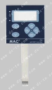 China LED/LCD Window Membrane Keypad Panels on sale