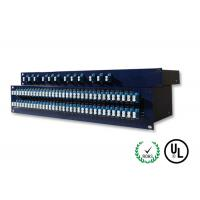 Duplex Single Mode Fiber Coupler Intergrated Box With LC / UPC Connector