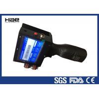 China TIJ Expiry Date Coding Machine Handheld  , Portable Inkjet Printer Battery Powerd on sale