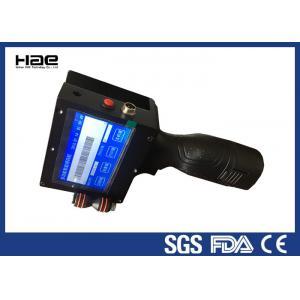 China HAE - 530 TIJ Expiry Date Coding Machine , Portable Inkjet Printer Battery Powerd on sale