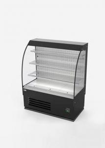 China Semi Height Multideck Display Fridge Open Showcase Chiller Automatic Defrost on sale