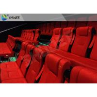 Film Projector 3D Cinema System With Plastic Cloth Cover Chair 100 People