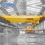50ton Double Girder Magnet Electromagnetic Bridge Crane Used For Steel Factory