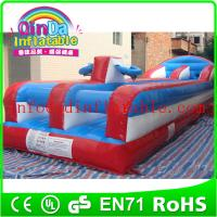 2015 inflatable sport games inflatable bungee run for sport games bungee run for sale