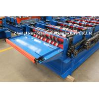 Joint Hidden Color Coated Metal Roof Roll Forming Machine For Wall Panel Making