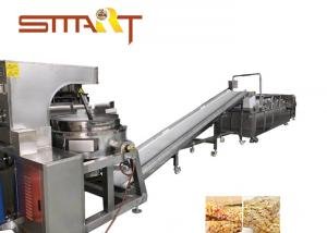 China Full Automation Cereal Bar Forming Machine For Puffing Rice , 200-300kg/Hr on sale