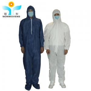 China SBPP Disposable Protective Wear , CE ISO Non Woven Protective Clothing on sale