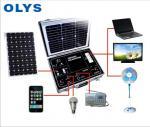 Portable solar generator, solar home emergency power system