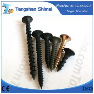 China C1022 cheap black phosphated and galvanized fine and coarse thread drywall screw on sale