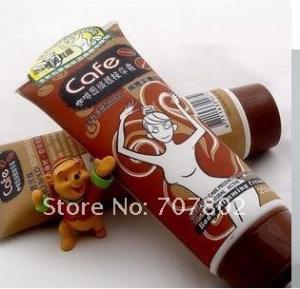 Quality Health 85ml, 250ml Lower Abdomen, Buttocks Yilibalo Body Slimming Gel Coffee for sale