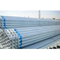 China Round Schedule 80 Galvanized Pipe With Plain Ends Strapped In Bundles on sale