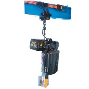 China Stage Type Truss Chain Hoist Aluminum Material With Unique Fins Motor Frame on sale
