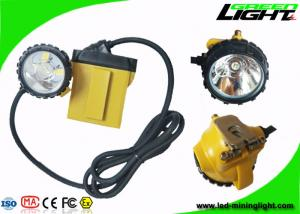 China 10.4Ah Low Power Warning GL12-A 25000lux Mining Headlight IP68 Water-proof on sale