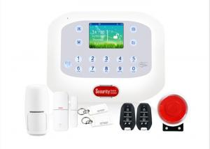 China GSM PSTN Wireless Security Alarm System 6 Wired 50 Wireless Zones on sale
