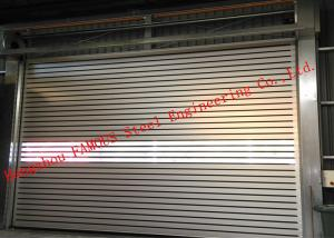 China Indoors PVC Fast Rapid Rise Door And Outdoors Hard Metal High Speed Rolling Shutter Door on sale