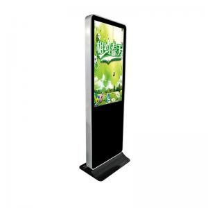 China Standalone USB Electronic Signage Display , Floor Standing Lcd Advertising Display on sale