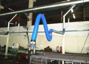 China Industrial Flexible Fume Extraction Arm,Welding Grinding Dust Collection Smoke Suction Arm on sale
