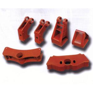 China Red brake part automobile casting parts carbon steel 42CrMo 8620 4145 on sale