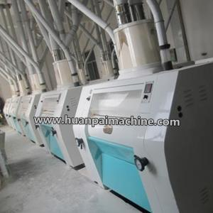 China 60 ton/day corn flour mill plant/maize flour milling machine/corn roller mill with price on sale