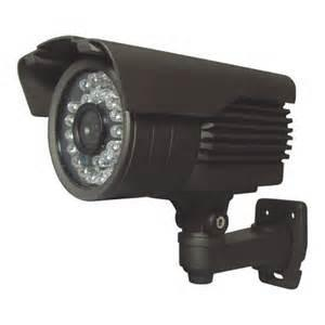 China Infrared Night Vision Wide Angle CCTV Camera M-JPEG Support SD Card on sale
