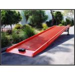 スケートボードの傾斜路