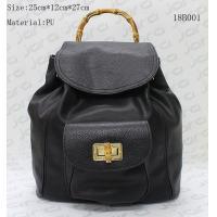 Black PU Women Fashion Bags With Secret Pocket , Women