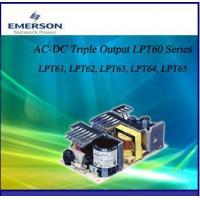 Triple output AC-DC Power Supply LPT65 (Emerson)