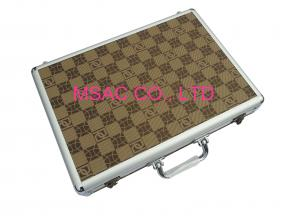 China Durable Padded Aluminum Case Big Space , Red Lining Aluminum Tool Case on sale